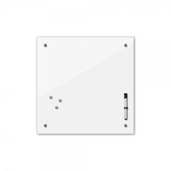 Memoboard - weiß - 24 Farben