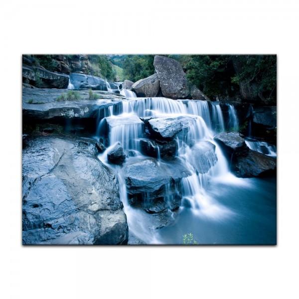Leinwandbild - Drakensberg Wasserfall