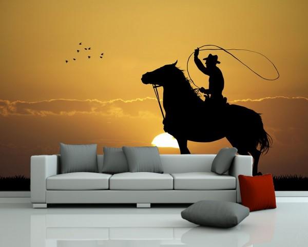 Fototapete - Rodeo Cowboy