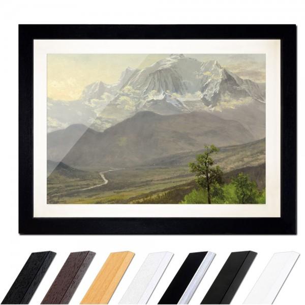 Albert Bierstadt - Mont Blanc