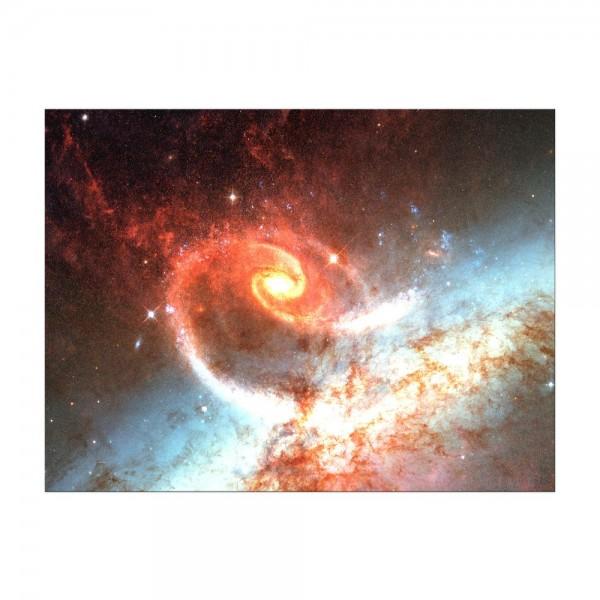Leinwandbild - Spiralgalaxie