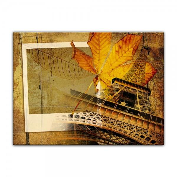 Leinwandbild - Paris retro