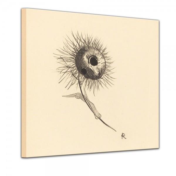 SALE Leinwandbild - Odileon Redon Cul de Lampe - 60x60 cm