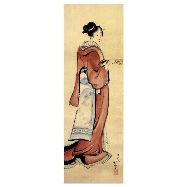 Leinwandbild - Katsushika Hokusai - Geisha