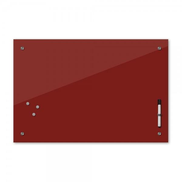 Memoboard - dunkelrot - rot - 24 Farben