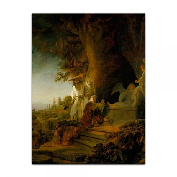 Leinwandbild - Rembrandt - Christus erscheint Maria Magdalena