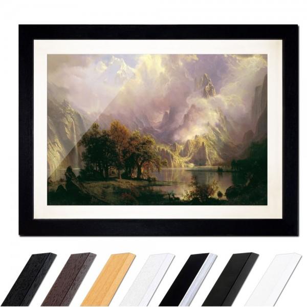 Albert Bierstadt - Rocky Mountain Landscape