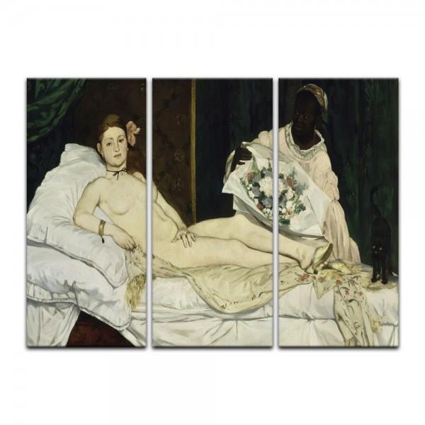 Leinwandbild - Édouard Manet - Olympia