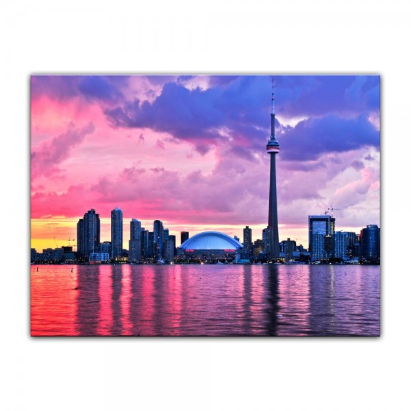 Leinwandbild - Skyline von Toronto