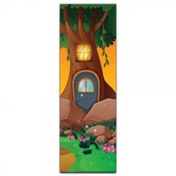 Leinwandbild - Kinderbild - Baumhaus