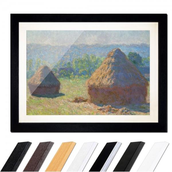 Claude Monet - Heuschober - Ende des Sommers