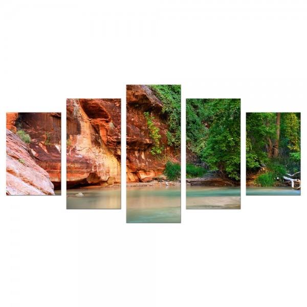 Leinwandbild - Fluss Virgin River