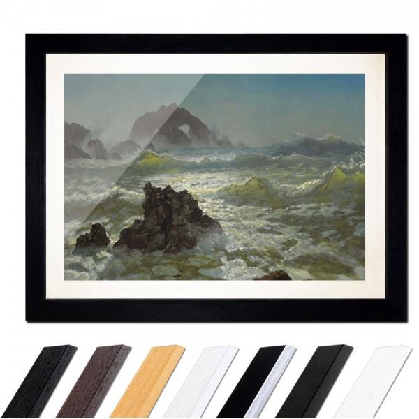 Albert Bierstadt - Seal Rock, California