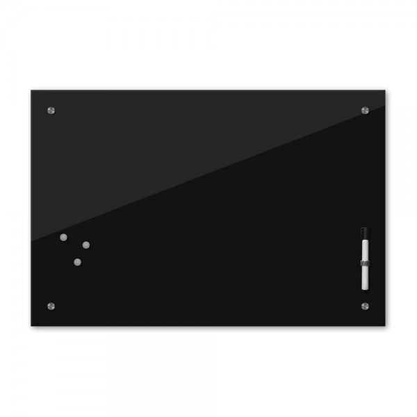Memoboard - schwarz - 24 Farben