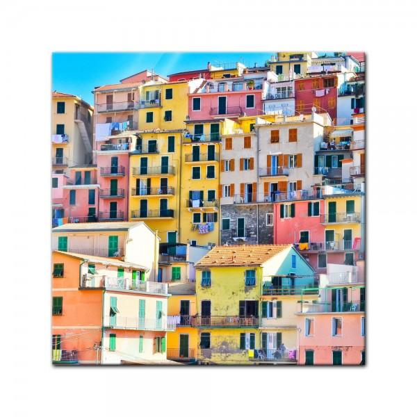 Glasbild - Riomaggiore Manarola Italien