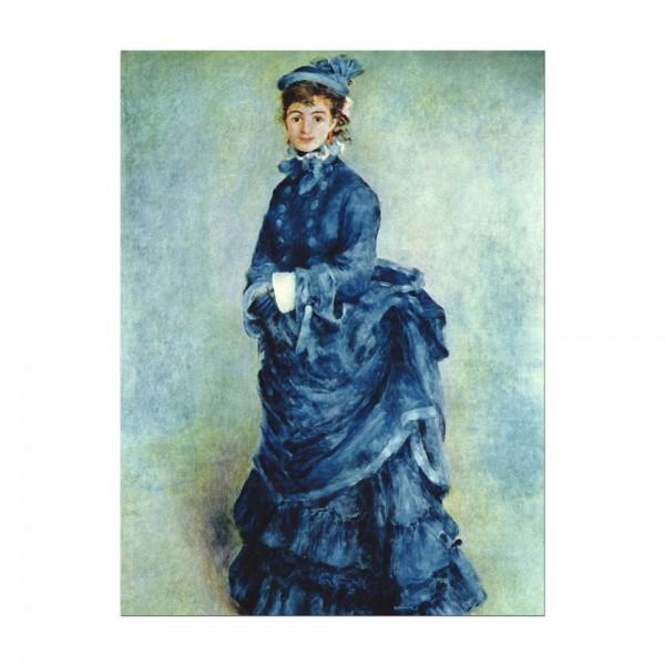 Leinwandbild - Pierre-Auguste Renoir - Die Pariserin