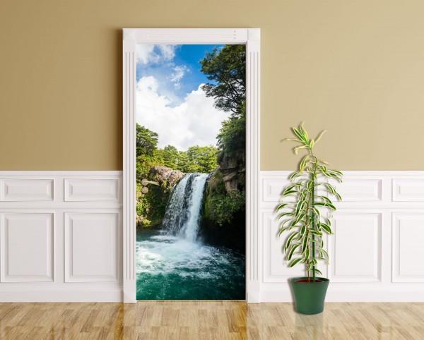 Türaufkleber - Tawhai Falls