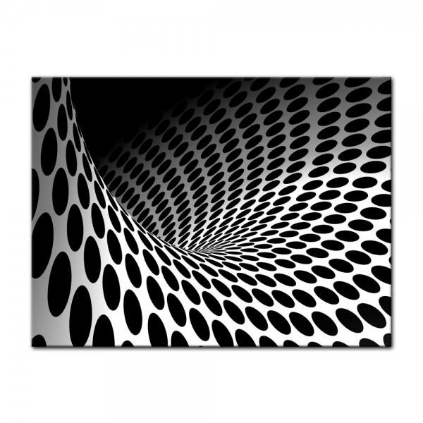 Leinwandbild - Wellen und Kreise