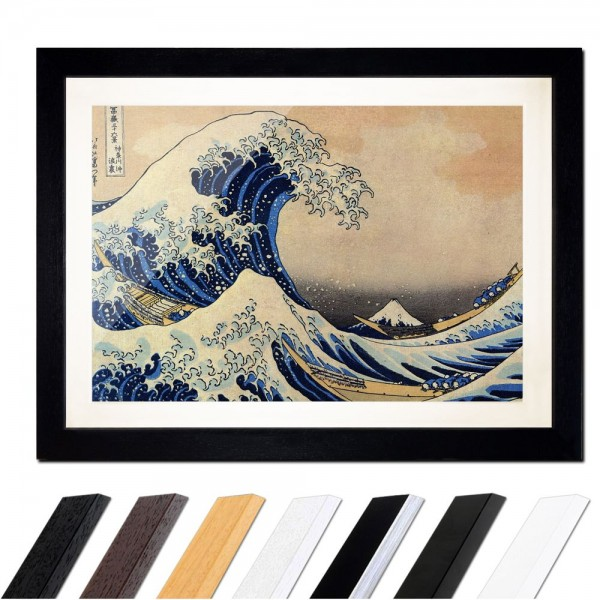 Katsushika Hokusai - Die große Welle vor Kanagawa