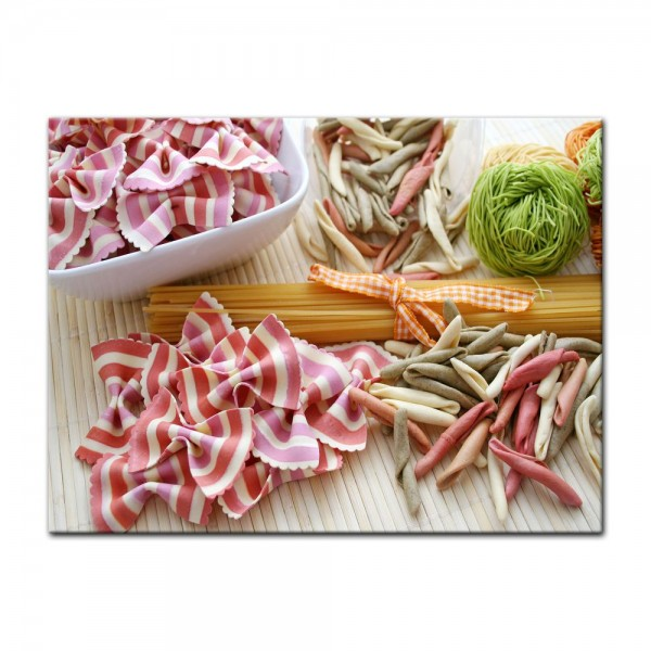Leinwandbild - Italienische Pasta V