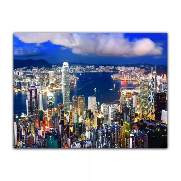 Leinwandbild - Hong Kong - Central District