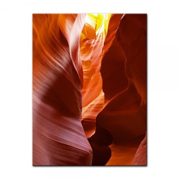 Leinwandbild - Antelope Canyon VI - Arizona USA