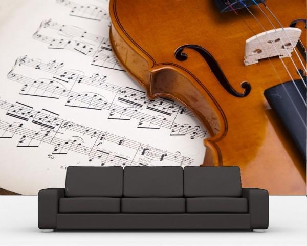 Fototapete Violine