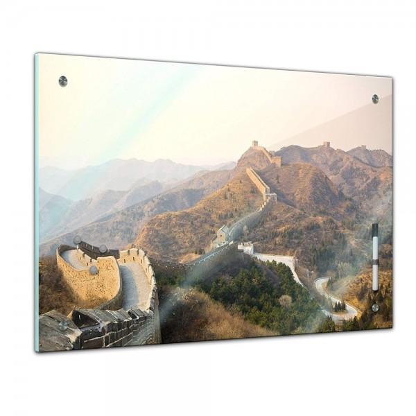 Memoboard - Landschaft - Chinesische Mauer