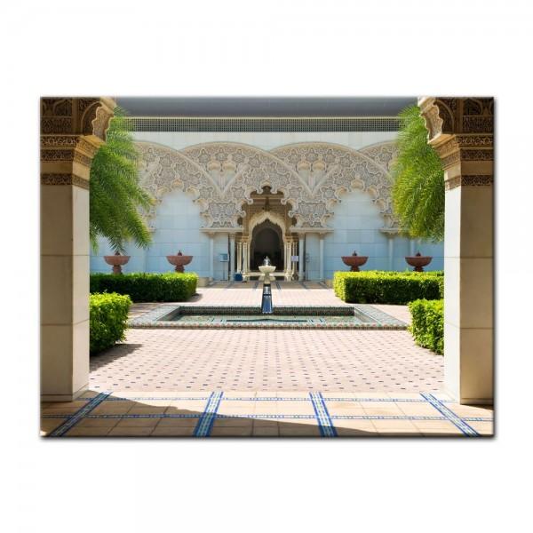 Leinwandbild - marokkanische Architektur - Putrajaya Malaysia