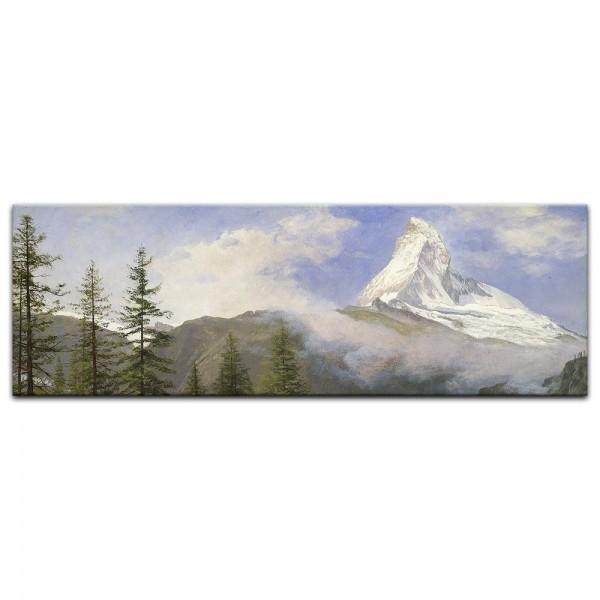 Leinwandbild - Albert Bierstadt - Matterhorn 2