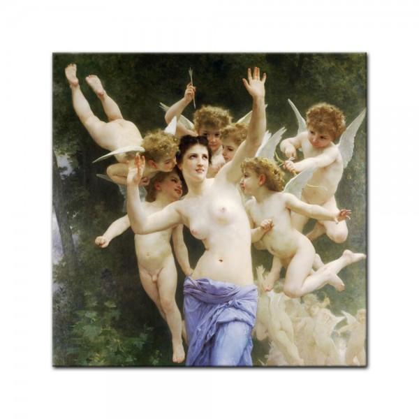 Leinwandbild - William-Adolphe Bouguereau - Das Wespennest