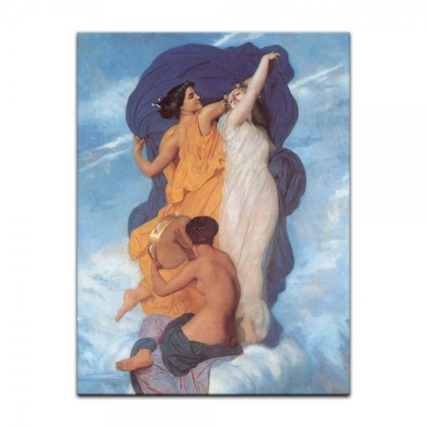 Leinwandbild - William-Adolphe Bouguereau - Der Tanz