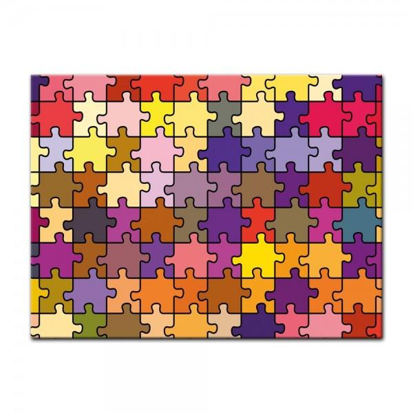 Leinwandbild - Puzzle