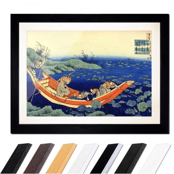 Katsushika Hokusai - Das Gedicht von Bunya no Asayasu