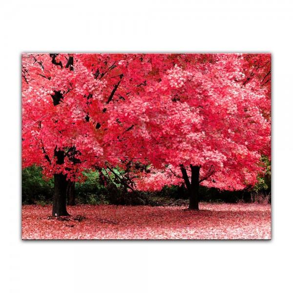 Leinwandbild - Herbst Abstrakt