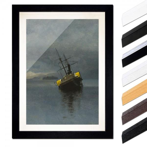 Albert Bierstadt - Wreck of the Ancon