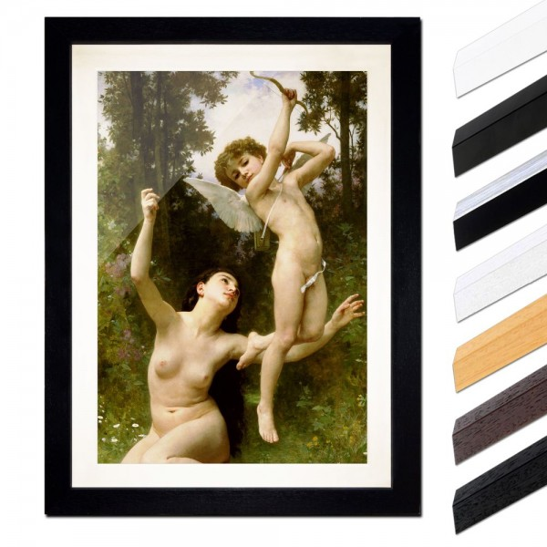William-Adolphe Bouguereau - Flug der Liebe