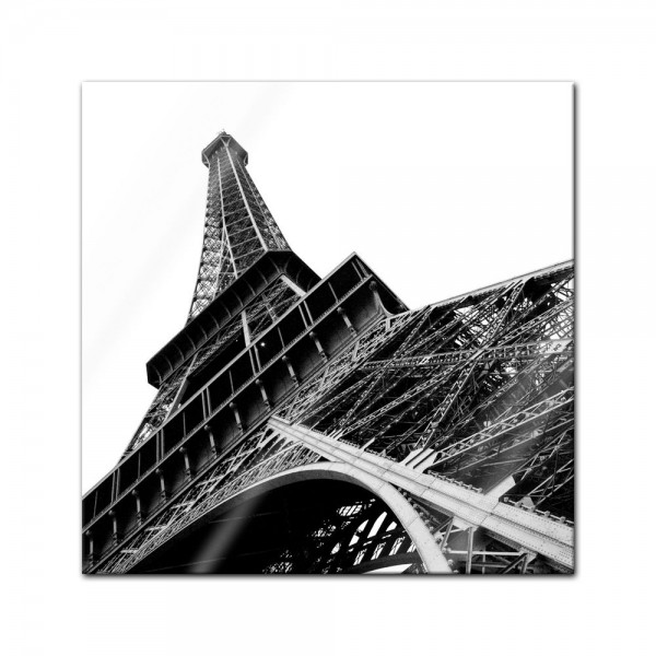 Glasbild - Pariser Eiffelturm
