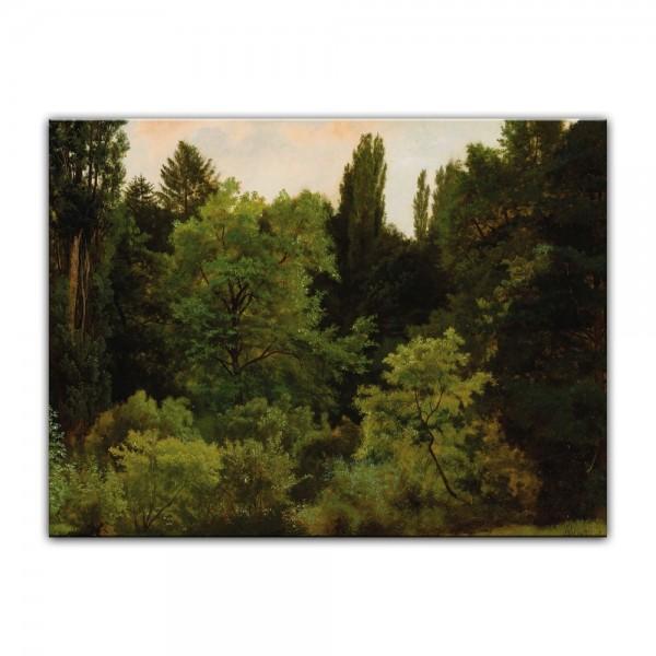 Leinwandbild - Albert Bierstadt - Deep in the Rockies