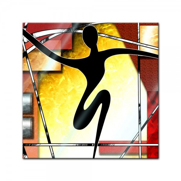 Glasbild - Abstrakt