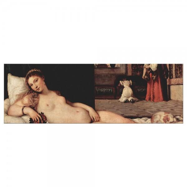 Leinwandbild - Tizian - Venus von Urbino