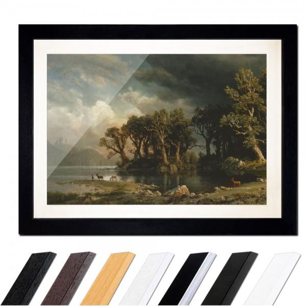 Albert Bierstadt - The coming storm - Der aufkommende Sturm