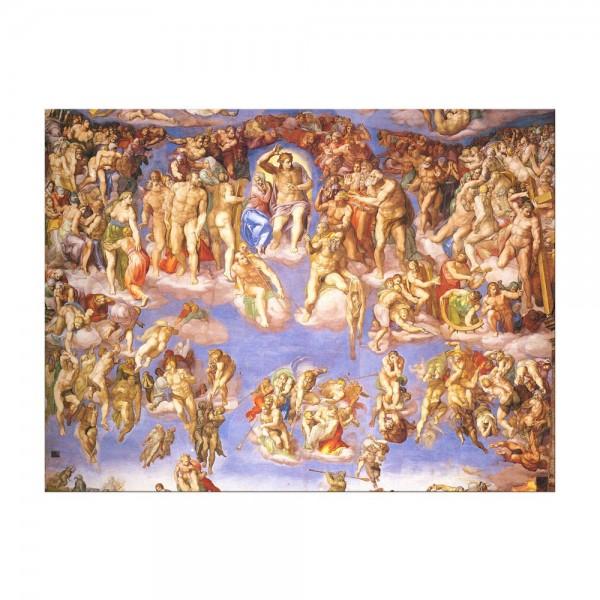 Leinwandbild - Michelangelo - Jüngstes Gericht II