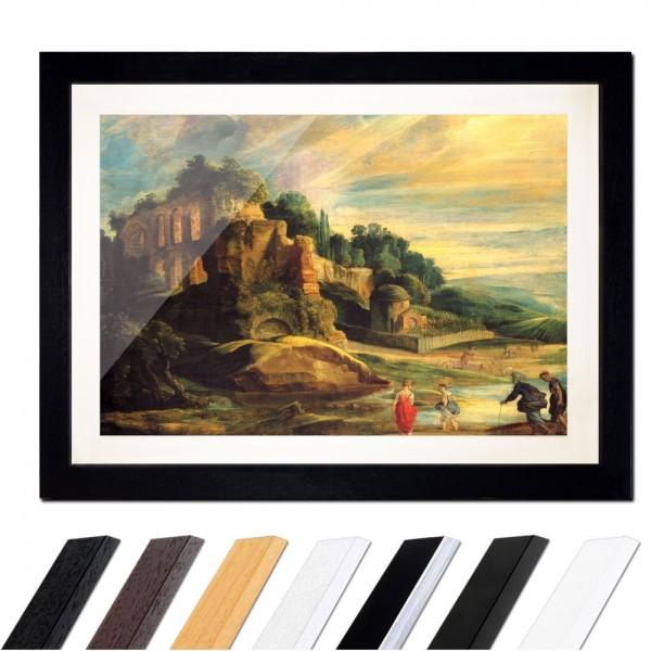 Peter Paul Rubens - Landschaft mit den Ruinen des Hügels Palatin in Rom