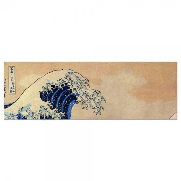 Leinwandbild - Katsushika Hokusai - Die große Welle vor Kanagawa