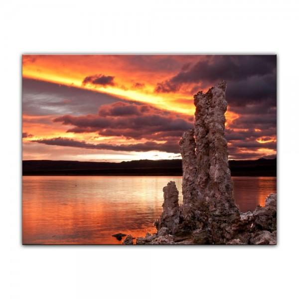 Leinwandbild - Mono Lake Kalifornien