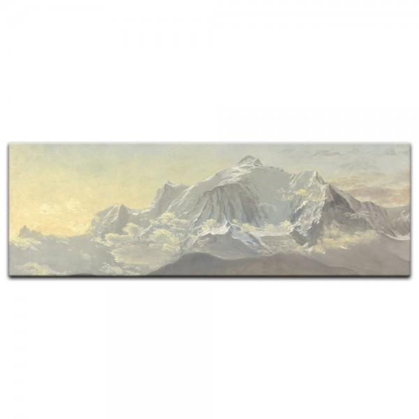 Leinwandbild - Albert Bierstadt - Mont Blanc