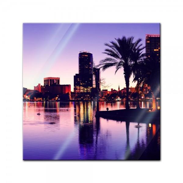 Glasbild - Orlando
