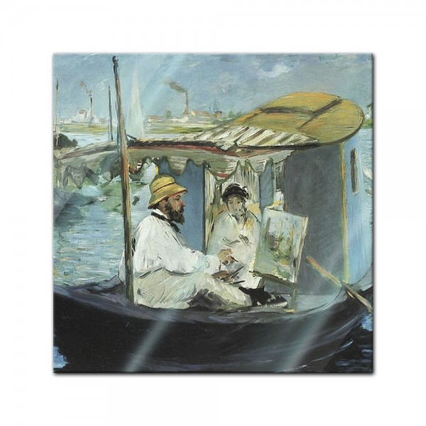 Glasbild Edouard Manet - Alte Meister - Die Barke
