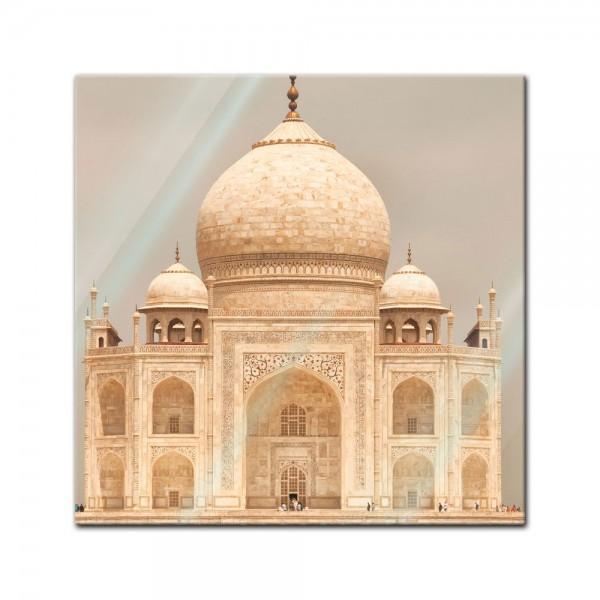 Glasbild - Taj Mahal Agra